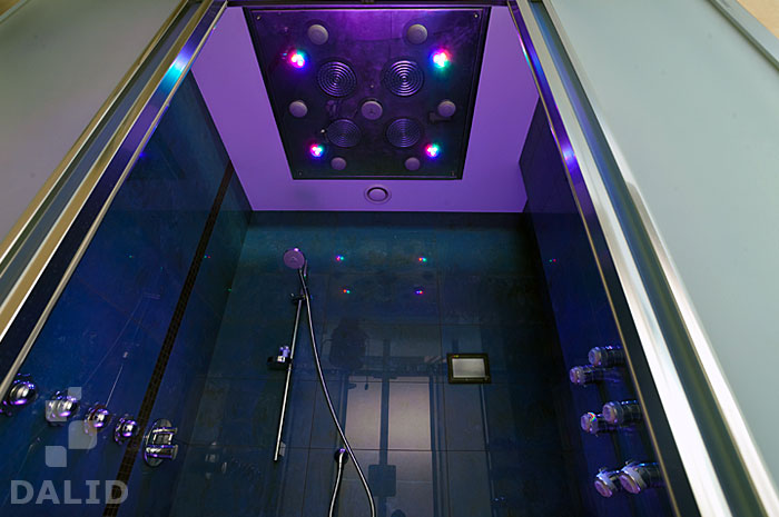 Experience shower with therapeutic functions