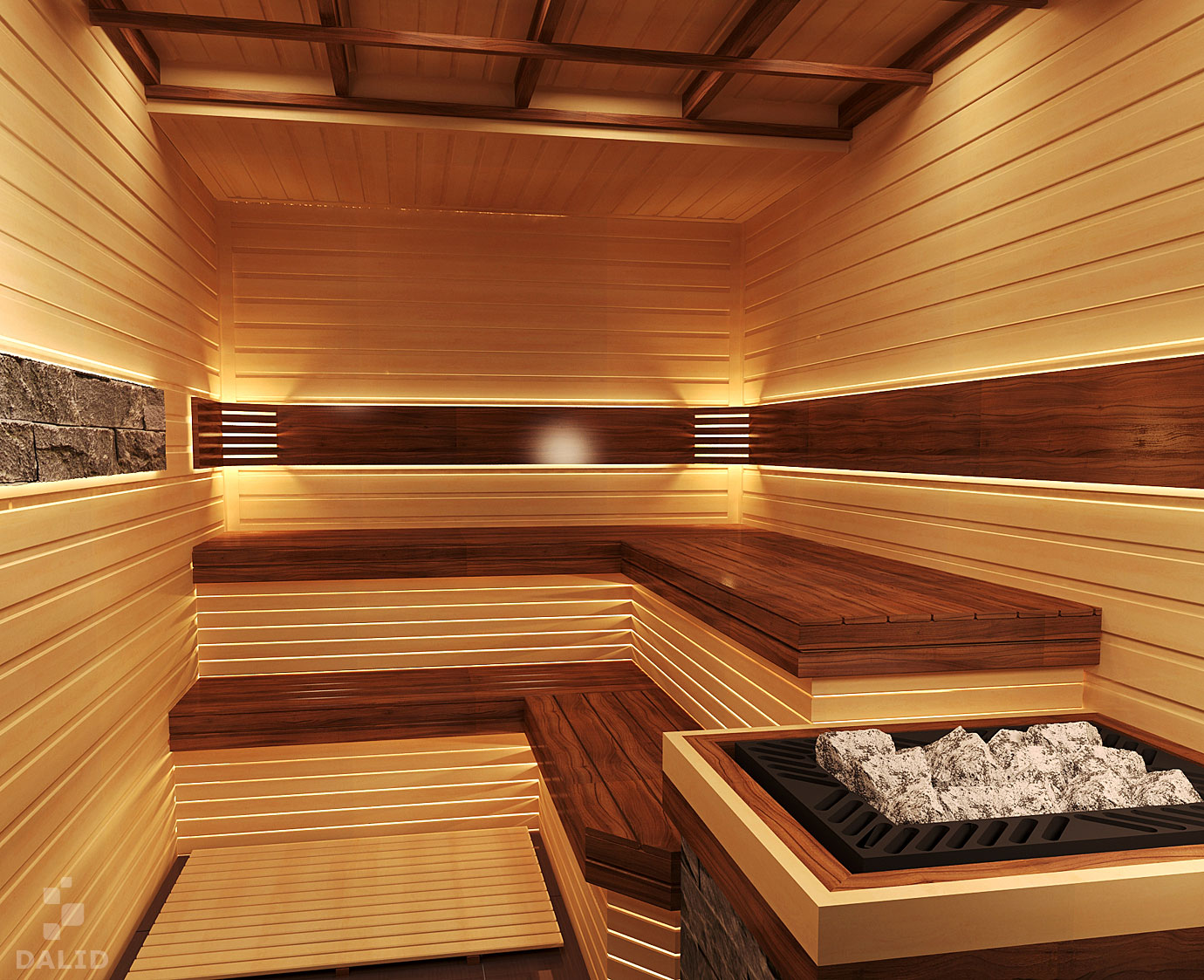Private SPA with Rome steam rooms (thermae), Finnish sauna and salt room